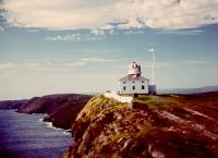 Cape Spear, the most easterly point in North America.